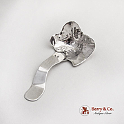 Arts And Crafts Cream Ladle Sterling Silver