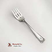 Etruscan Pastry Fork Gorham Sterling Silver
