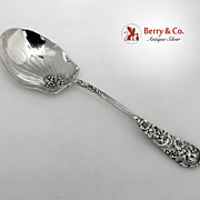 Trajan Berry Spoon Reed and Barton 1892 Sterling Silver No Monograms