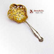 Canterbury Bon Bon Candy Nut Spoon Towle Sterling Silver 1893