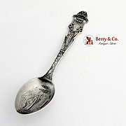 National Rainier Park Souvenir Spoon Sterling Silver