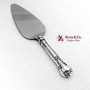 Gorham Chantilly Pie Server Stainless Blade Sterling Silver 1940