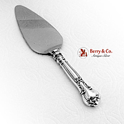 Gorham Chantilly Pie Server Stainless Blade Sterling Silver 1940