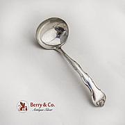 Rondo Gravy Ladle Gorham Sterling Silver 1951