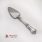 Marlborough Cheese Knife Server Reed And Barton Sterling Silver