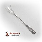 Vintage Stieff Rose Lettuce Fork Sterling Silver