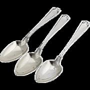 Etruscan Demitasse Spoons Set Gorham Sterling Silver Pat 1913