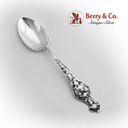 Alvin Carnation Teaspoon Sterling Silver 1900