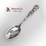 Mississippi Souvenir Spoon Watson Sterling Silver 1900