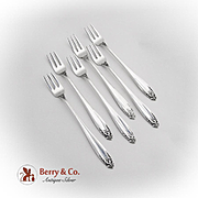 Prelude Cocktail Forks Set International Sterling Silver 1940