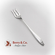 Prelude Pickle Fork Short Handle International Sterling Silver