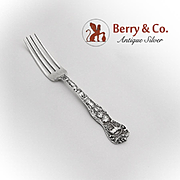 Salt Lake City Souvenir Fork Watson Sterling Silver 1895