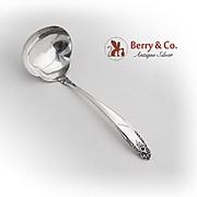 Prelude Gravy Ladle International Sterling Silver 1940