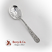 Repousse Ice Spoon S Kirk And Son Sterling Silver 1940