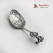 Vintage Monkey Spoon Dutch 813 Silver 1890
