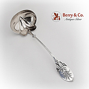 Lily Of The Valley Oyster Small Soup Ladle Gorham Sterling Silver 1870