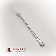 Strasbourg Pickle Fork Long Handle Gorham Sterling Silver Pat 1897