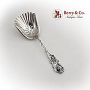 Figural Cherub Bon Bon Scoop Gilt Bowl Watson Sterling Silver 1895