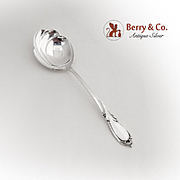 Rhapsody Serving Spoon International Sterling Silver 1957