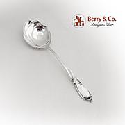 Rhapsody Serving Spoon International Sterling Silver 1957
