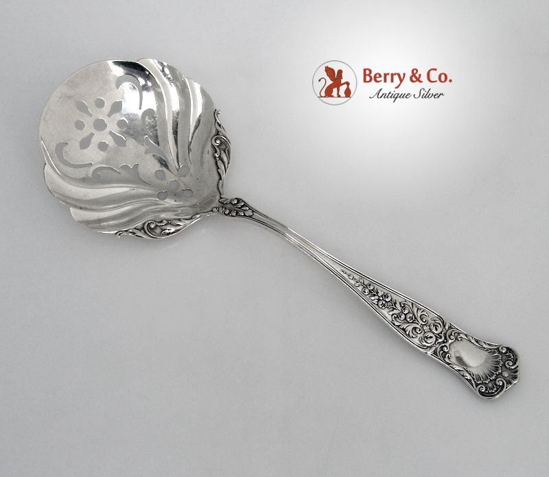 Pea Spoon Maryland Gorham 1896 Sterling Silver No Monogram