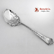 Persian Tiffany Berry Spoon Sterling Silver 1872 Monogram S