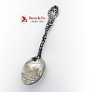Versailles Souvenir Spoon Engraved Bowl Gorham Sterling Silver