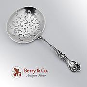 Majestic Bon Bon Spoon Pierced Bowl Alvin Sterling Silver Monogrammed