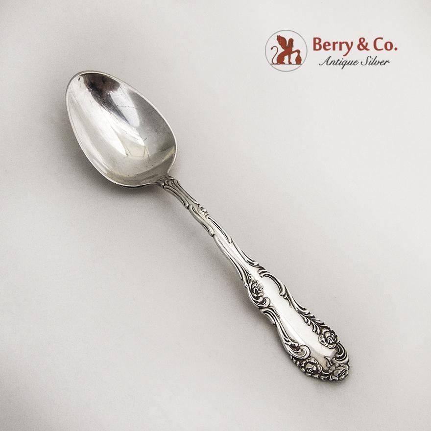 old english 4 o clock spoon towle sterling silver pat