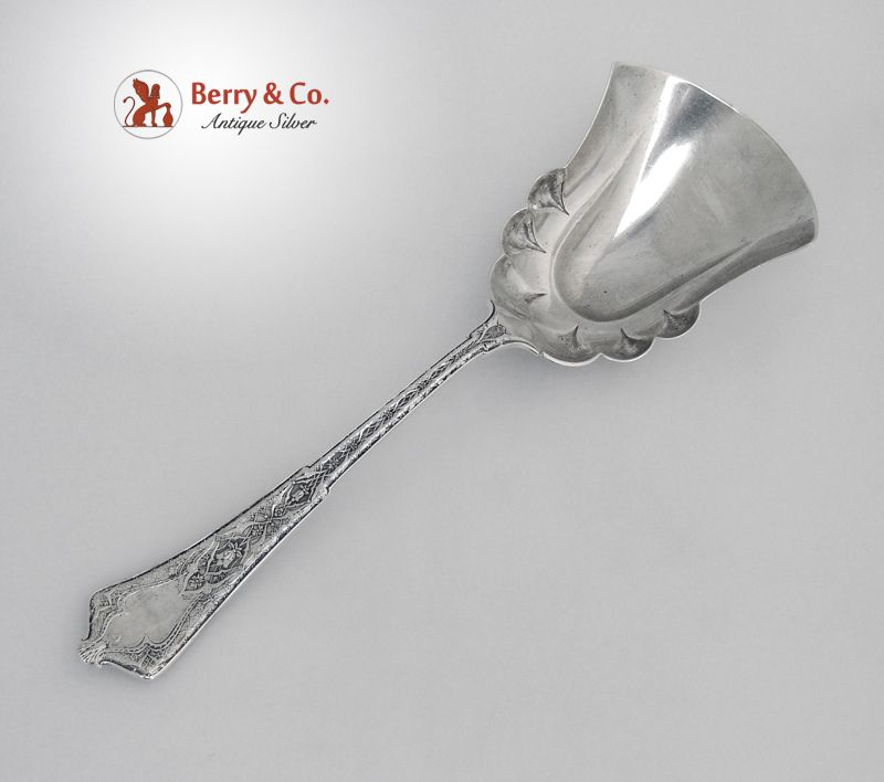Persian Berry Scoop Tiffany Sterling Silver 1872 No Monograms