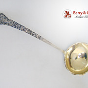 Medici Old Soup Ladle Gorham Sterling Silver 1880 No Monograms