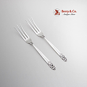 Royal Danish Lemon Fork International Sterling Silver