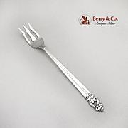 Royal Danish Pickle Fork International Sterling Silver 1939