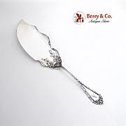 Madame Royale Fish Slice Server Durgin Sterling Silver 1900