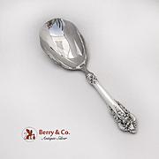 Grande Baroque Rice Spoon Wallace Sterling Silver 1941