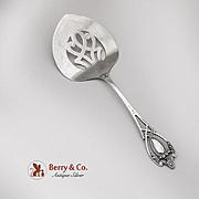 Monticello Tomato Server Lunt Sterling Silver Patented 1908