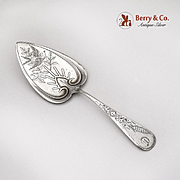 Pastry Server Harvest Schulz and Fischer San Francisco 1884 Sterling Silver