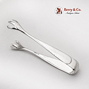 Betsy Patterson Plain Bon Bon Tongs S Kirk And Son Sterling Silver 1932