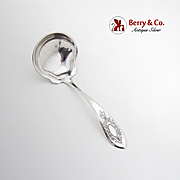 Beverly Gravy Ladle International Silver Co Sterling Silver 1910