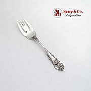 Sir Christopher Cold Meat Fork Wallace Sterling Silver 1936