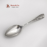 San Diego California Souvenir Spoon Figural Handle Sterling Silver