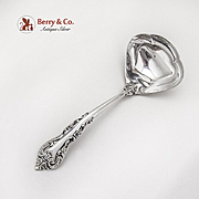 Silver Masterpiece Gravy Ladle International Sterling Silver 1970