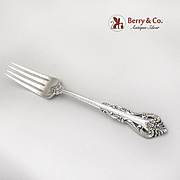 Silver Masterpiece Regular Fork International Sterling Silver 1970