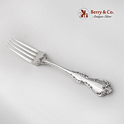 Debussy Dinner Fork Towle Silversmiths Sterling Silver 1959