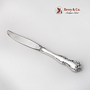 Debussy Regular Knife Towle Silversmiths Sterling Silver 1959