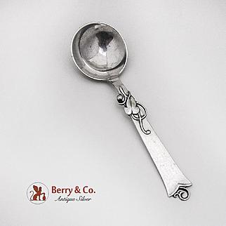 Danish Vine Blossom Jam Spoon Carl M Cohr Sterling Silver