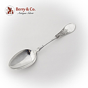 Gem Aesthetic Dessert Place Soup Spoon Schulz Fischer Coin Silver 1870