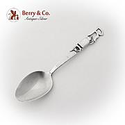 Vintage Souvenir Spoon Mermod Jaccard King Co Sterling Silver