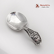Cat Curved Handle Baby Spoon Watson Co Sterling Silver 1890