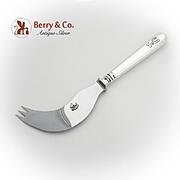 Rare Melon Knife Polished Steel Blade Russian 84 Standard Silver 1917